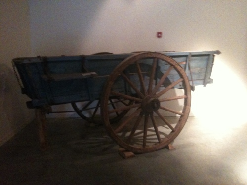 Civil War period plantation wagon