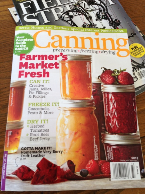 Canning Issue
