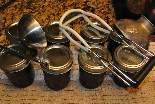 Tools of jam making.